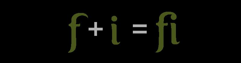 Лигатура — знак, образованный путём соединения двух и более букв.