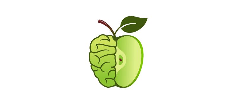 Умное яблоко. Но не Apple.