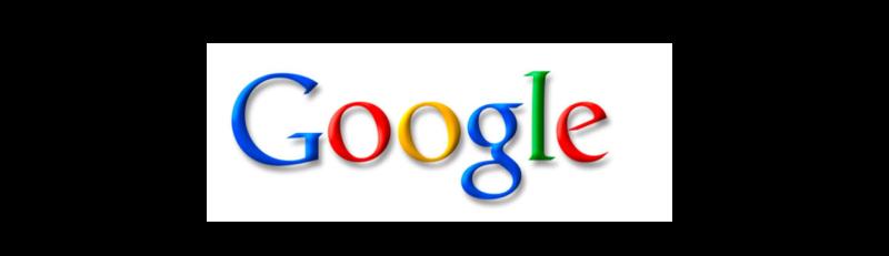 Логотип Гугла стандартным для многомиллиардной корпорации не назовешь.