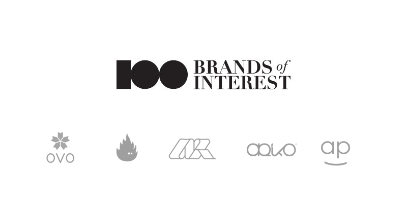 100 brands of interest