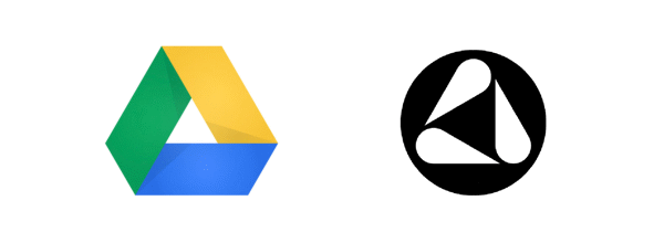 Логотипы Google Drive и Delta Faucet