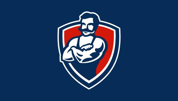 Логотип магазина спортивного питания