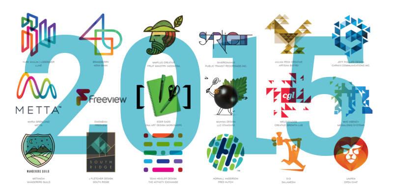 Тренды в дизайне логотипов - 2015