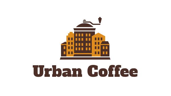 Логотип сети мини-кофеен