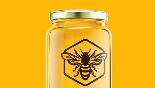 Логотип марки меда