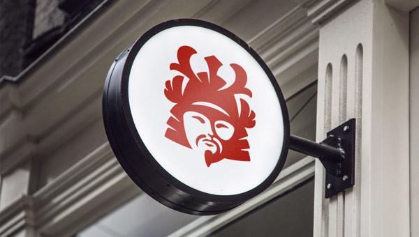 Логотип суши-ресторана