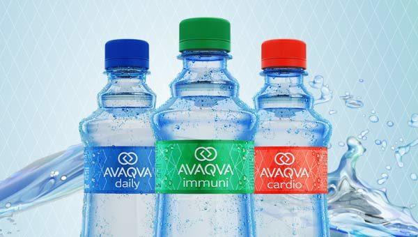 Логотип и упаковка воды
