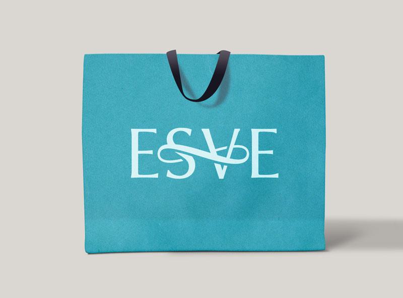 Логотип бренда одежды - пакет