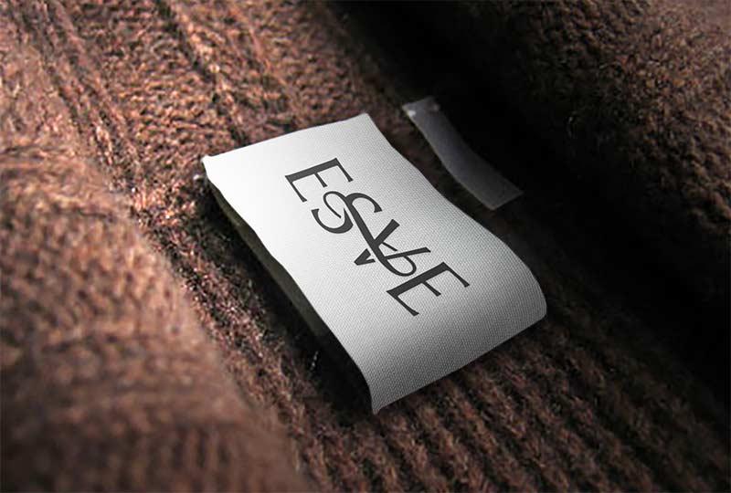 Логотип бренда итальянской одежды - деталь