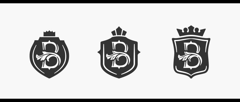 Форма щита в логотипе