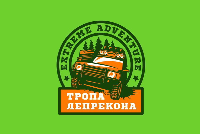 Логотип off-road клуба - вариант 1