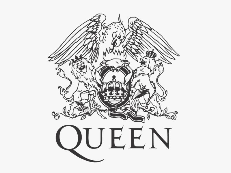 Логотип Queen - рисунок