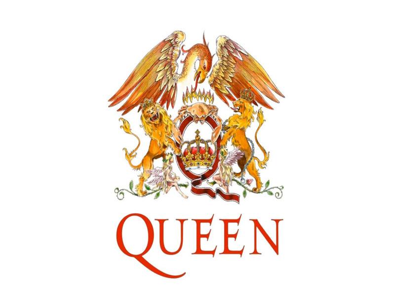 Логотип Queen в цвете