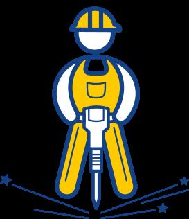 Фирменный стиль строительной компании - рабочий